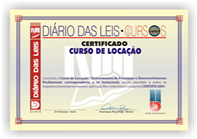 Certificado do Curso de Loca��o